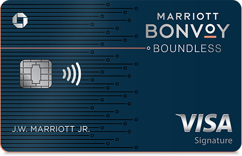 Marriot Bonvoy Boundless Visa Signature Credit Card