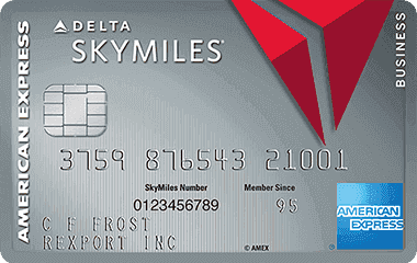 American Express Business Delta Platinum Credit Card