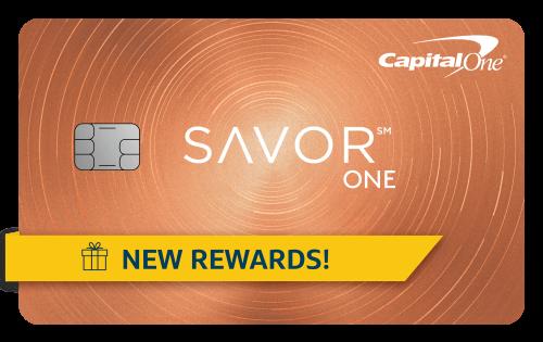 Capital One SavorOne Card