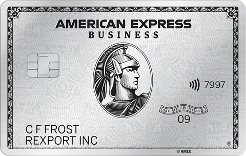 Business Platinum from American Express